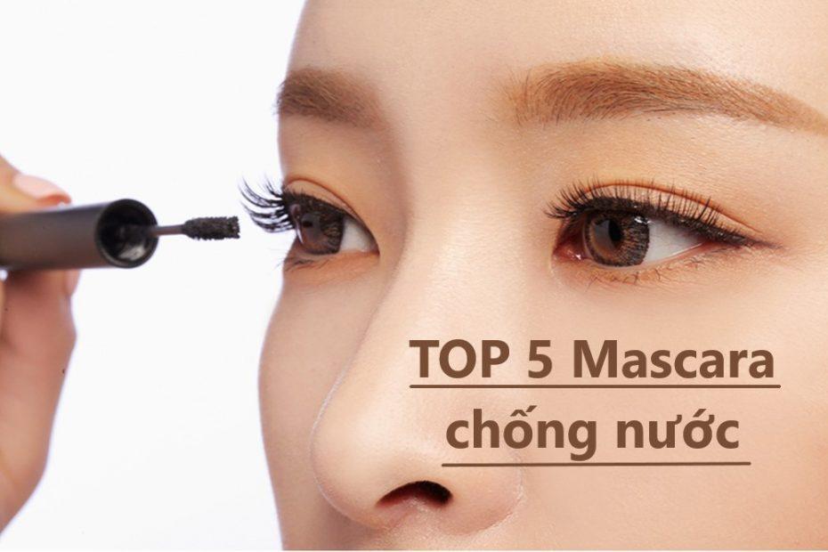 mascara chống nước