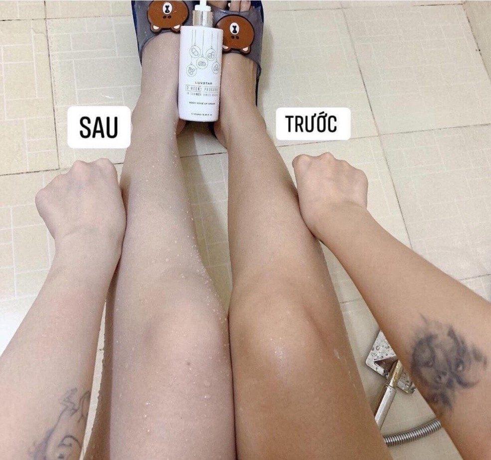 Màu sắc da chủ yếu là từ di truyền.