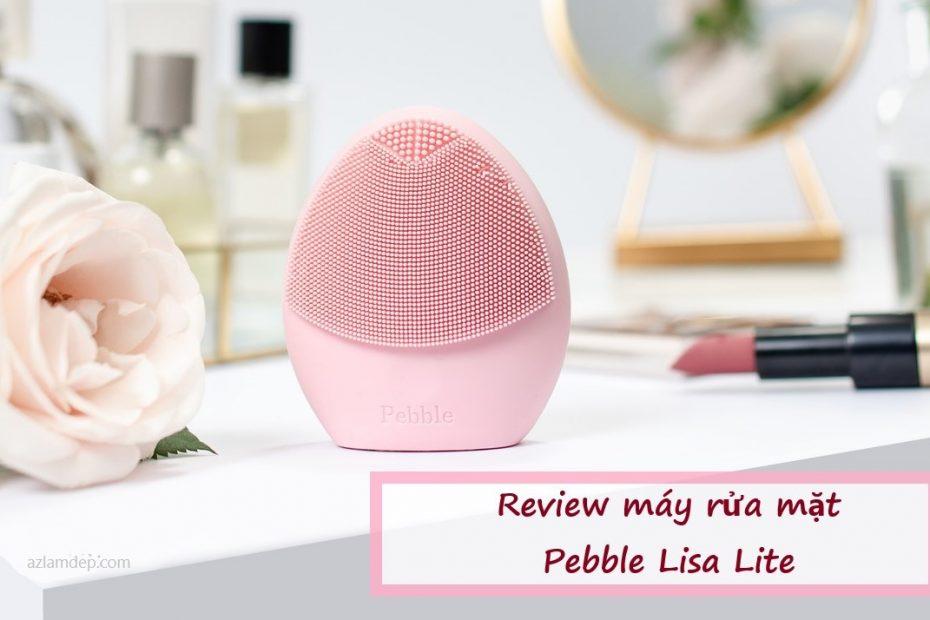 Máy rửa mặt Pebble Lisa Lite