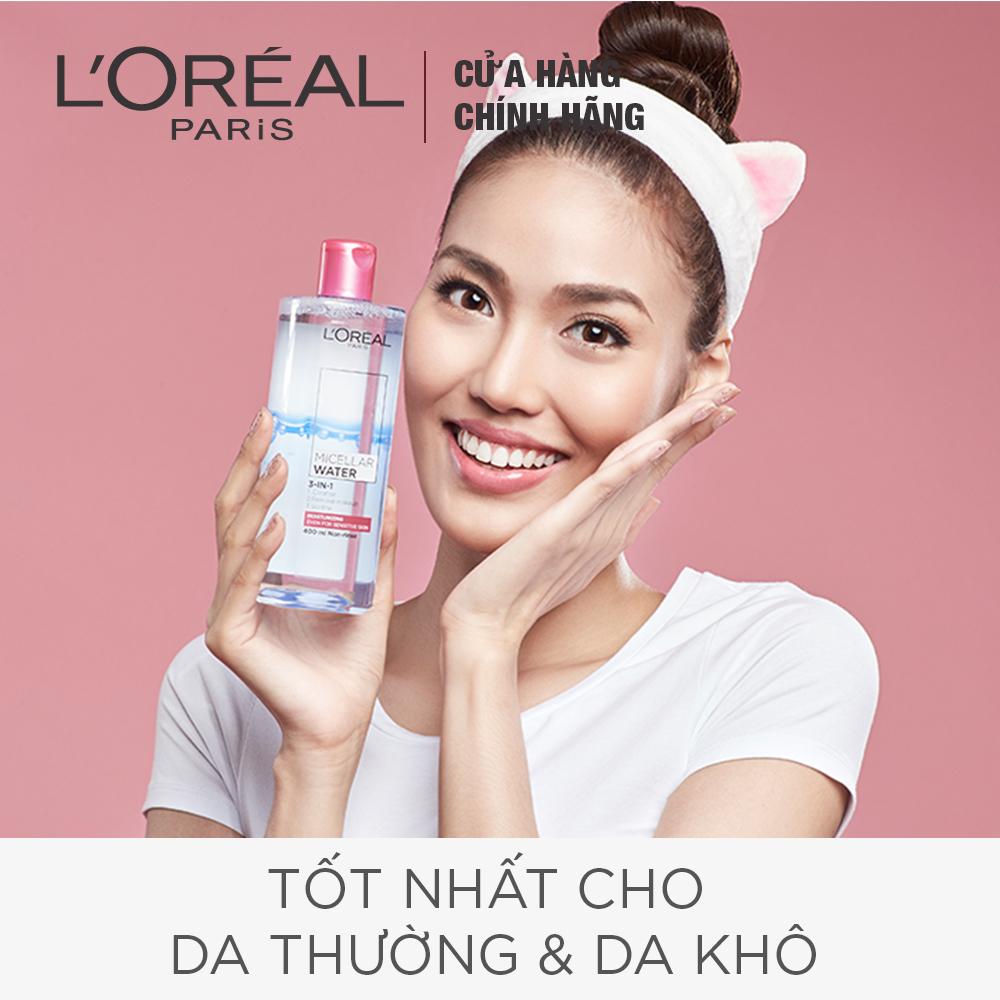 Nước tẩy trang L'Oréal Paris Moisturizing.
