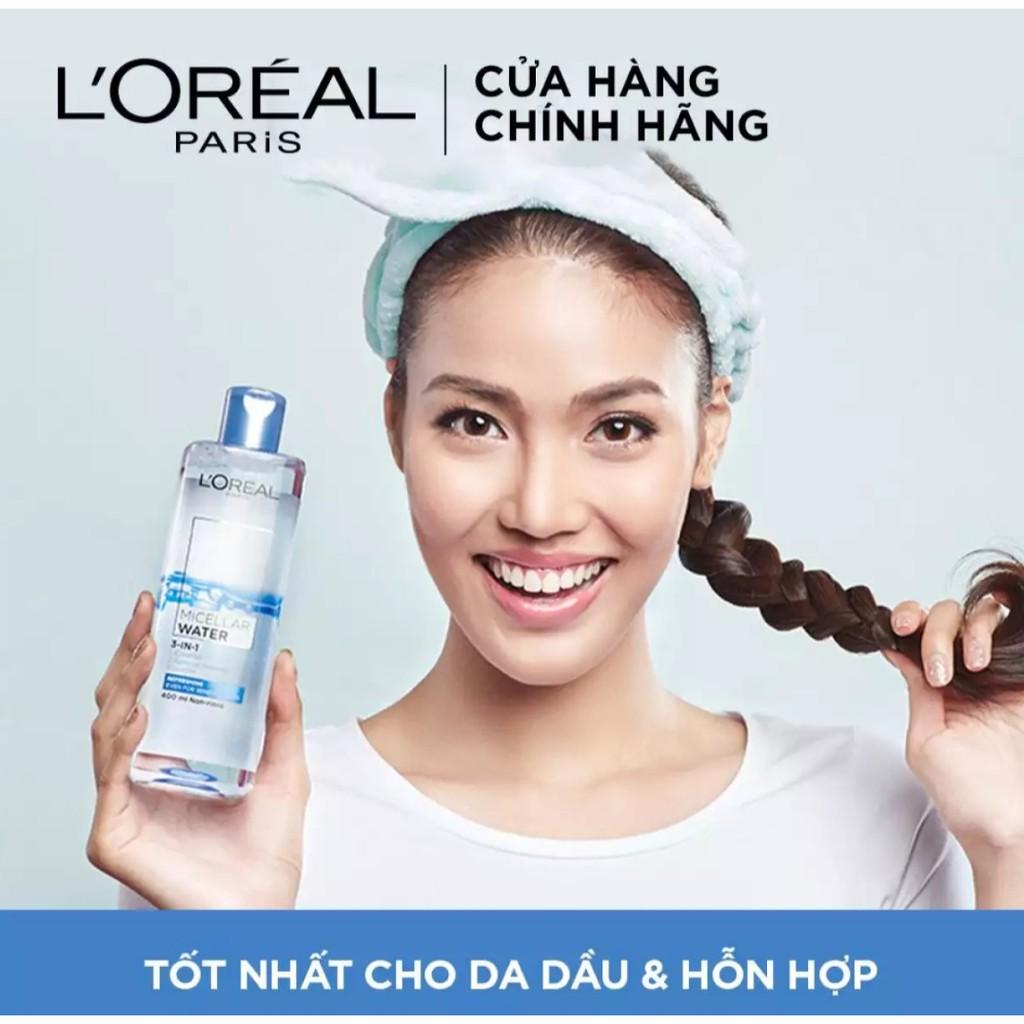 Nước tẩy trang L'Oréal Paris Refreshing.