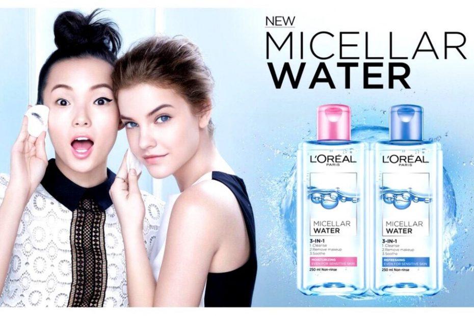 Nước tẩy trang L'Oréal Paris.