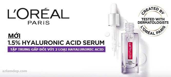 L'Oréal Paris Hyaluronic Acid 1.5%