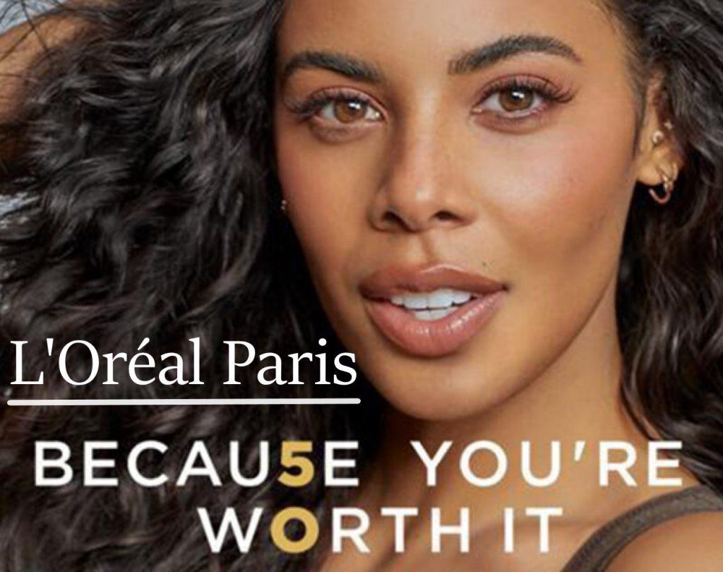 Slogan L'Oréal Paris